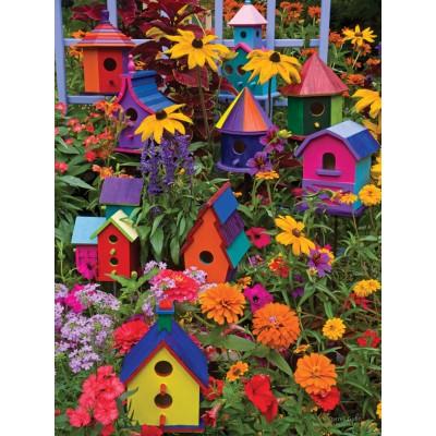 Puzzle  Cobble-Hill-88014 XXL Teile - Birdhouses