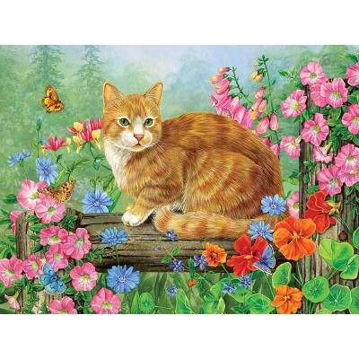 Puzzle  Cobble-Hill-88026 XXL Teile - A Perfect Perch