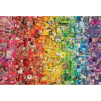 Puzzle  Cobble-Hill-89003 Rainbow