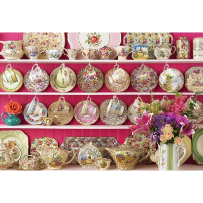 Puzzle  Cobble-Hill-89006 Grandma's Chintz