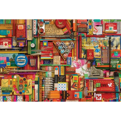Puzzle  Cobble-Hill-89009 Vintage Art Supplies