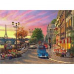 Puzzle  Perre-Anatolian-1004 Seine Sunset