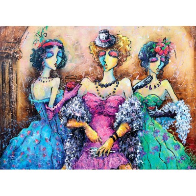 Puzzle  Perre-Anatolian-1041 Ladies Party