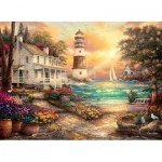 Puzzle  Perre-Anatolian-1075 Cottage by the Sea