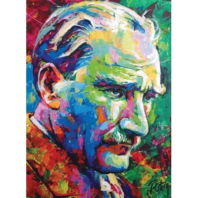 Puzzle  Perre-Anatolian-1077 Mustafa Kemal Atatürk