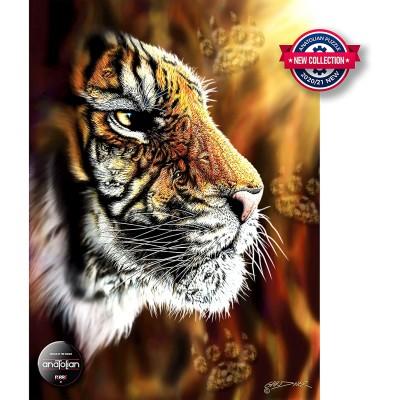 Puzzle  Perre-Anatolian-1097 Wild Tiger