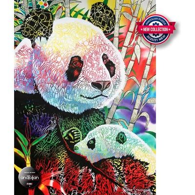 Puzzle  Perre-Anatolian-1099 Rainbow Panda