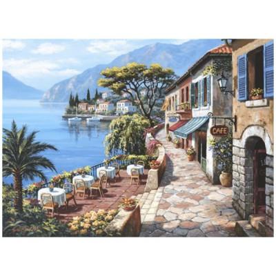 Puzzle Perre-Anatolian-3085 Sung Kim: Café am Ufer