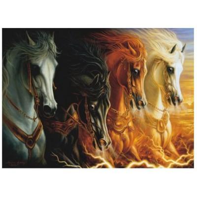 Puzzle  Perre-Anatolian-3116 Die vier Pferde der Apokalypse