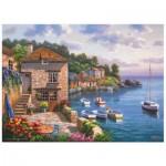 Puzzle  Perre-Anatolian-3117 Sung Kim: Der Garten am Hafen