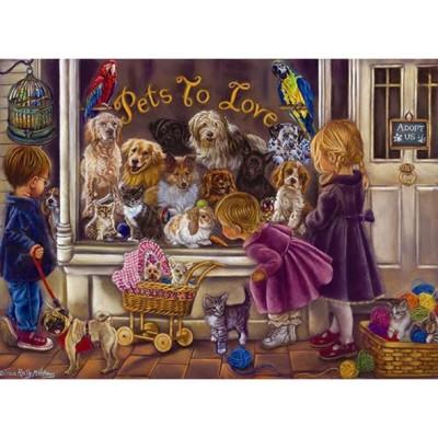 Puzzle  Perre-Anatolian-3186 Tricia Reilly-Matthews: Tiere zum Liebhaben