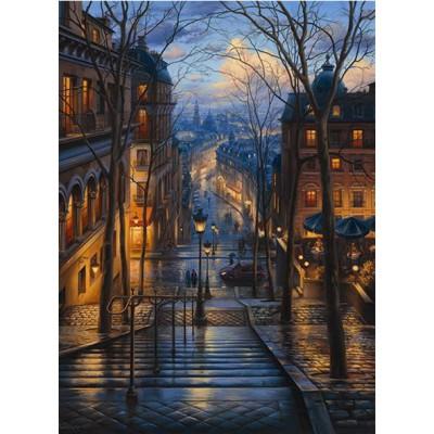 Puzzle  Perre-Anatolian-3192 Frankreich, Paris: Montmartre im Frühling