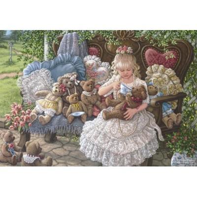 Puzzle  Perre-Anatolian-3270 Hollys Teddybären
