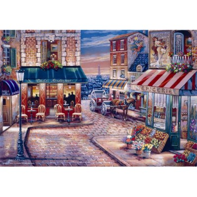 Puzzle  Perre-Anatolian-3523 John O'Brien: Café du Rendez-vous