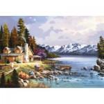 Puzzle  Perre-Anatolian-3534 Berghütte