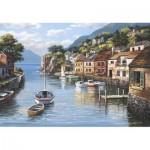 Puzzle  Perre-Anatolian-3535 Dorf am Wasser