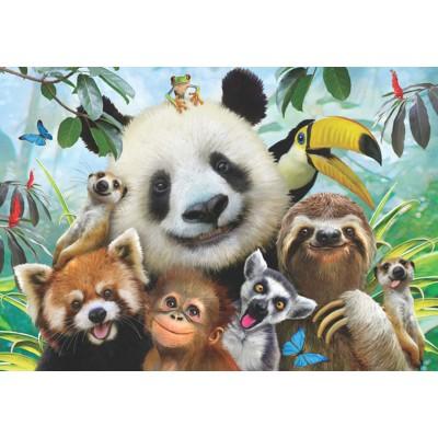 Puzzle  Perre-Anatolian-3596 Zoo Selfie