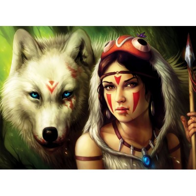 Puzzle  Perre-Anatolian-3600 Warrior Princess