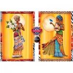 Perre-Anatolian-3619 2 Puzzles - Afrikalı Kadınlar