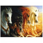 Puzzle  Perre-Anatolian-3902 Die 4 Pferde der Apokalypse