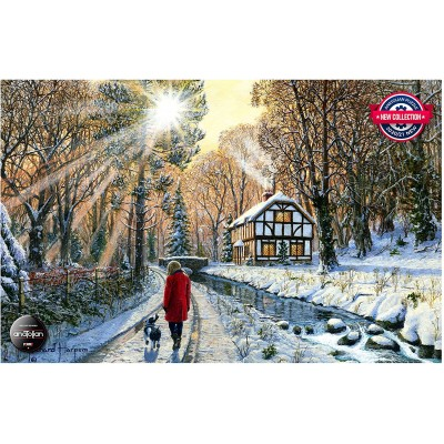 Puzzle Perre-Anatolian-3954 Winter Woodlands