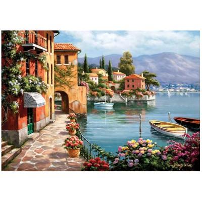 Puzzle  Perre-Anatolian-4524 Villa am See