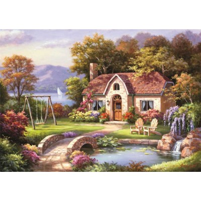 Puzzle  Perre-Anatolian-4559 Stone Bridge Cottage