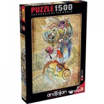 Puzzle  Perre-Anatolian-4560 Circassian Girl Travelling