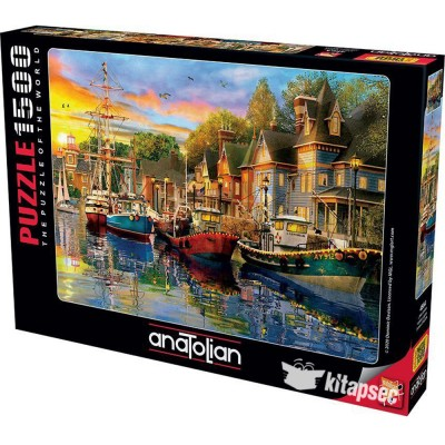 Puzzle  Perre-Anatolian-4564 Harbour Lights