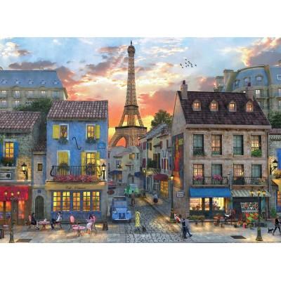 Puzzle  Perre-Anatolian-4910 Dominic Davison - Streets of Paris