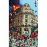 Puzzle  Piatnik-5354 Ruyer: Feuerwehr