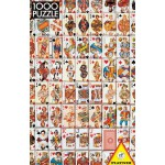 Puzzle  Piatnik-5437 Kartenspiel
