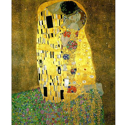 Puzzle  Piatnik-5459 Klimt: Der Kuss