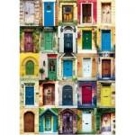 Puzzle  Piatnik-5469 Collage - Türen