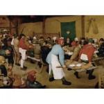 Puzzle  Piatnik-5483 Brueghel Pieter - Bauernhochzeit