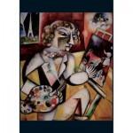 Puzzle  Piatnik-5496 Marc Chagall - Selbstporträt mit sieben Fingern