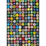 Puzzle  Piatnik-5513 Flaschenverschlüsse