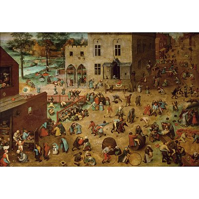 Puzzle  Piatnik-5677 Brueghel: Kinderspiele