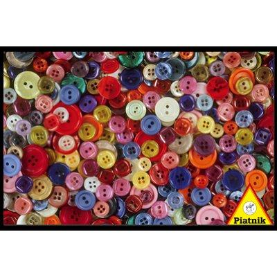 Puzzle  Piatnik-5687 Knöpfe