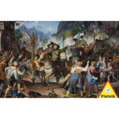 Puzzle  Piatnik-5695 Koch: Tiroler Landsturm