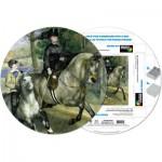 Pigment-and-Hue-RRENR-41205 Fertiges Rundpuzzle - Pierre Renoir: Femme à cheval