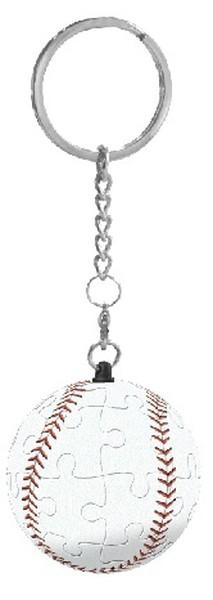 Pintoo-A1365 Schlüsselanhänger 3D Puzzle - Baseball