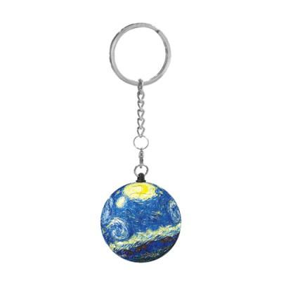 Pintoo-A3081 Schlüsselanhänger 3D Puzzle - Van Gogh