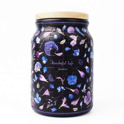 Pintoo-BA1005 3D Puzzle - Jar - Plantica - Summer Dream