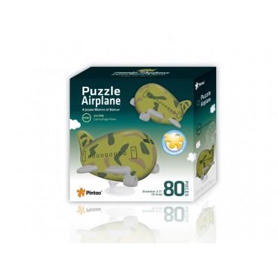 Pintoo-E5187 3D Airplane Puzzle - Tarnung