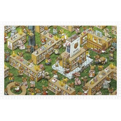 Pintoo-H1023 Puzzle aus Kunststoff - Smart - The Bookstore