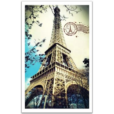 Pintoo-H1485 Kunststoffpuzzle - Eiffelturm, Paris