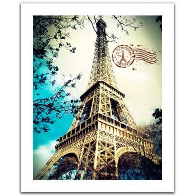 Pintoo-H1486 Puzzle aus Kunststoff 500 Teile - Eiffelturm, Paris