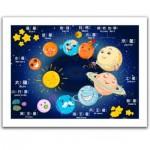 Pintoo-H1496 Puzzle aus Kunststoff - Sweet Universe
