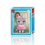 Pintoo-H1499 Puzzle aus Kunststoff - Cute Little Mumu